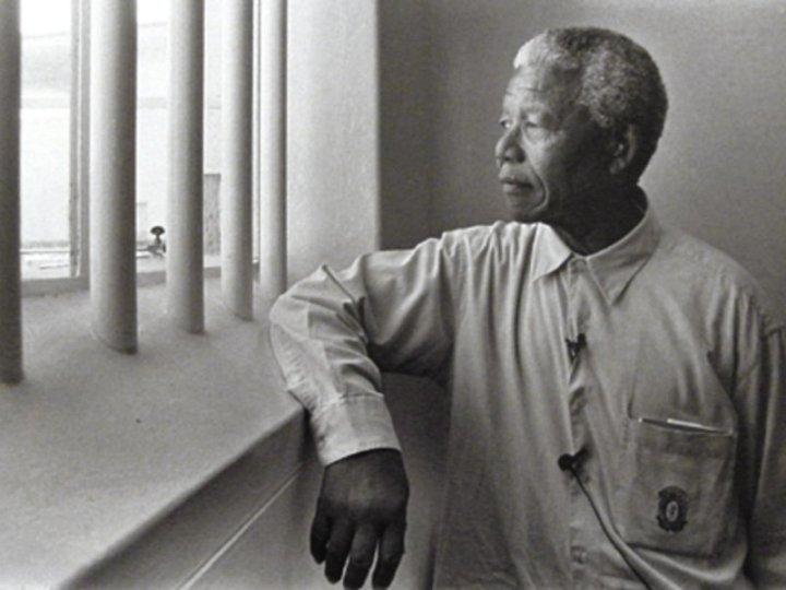 Nelson mandela free man